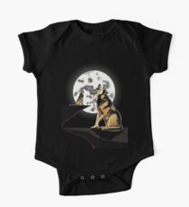 Howling at the Moon One Piece - Short Sleeve
