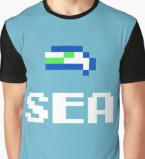 SEA of Tecmo Graphic T-Shirt