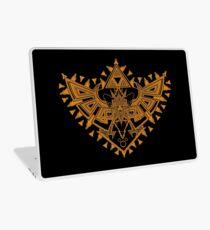 Heart Shield Triforce Bronce Gold 2/3 Laptop Skin