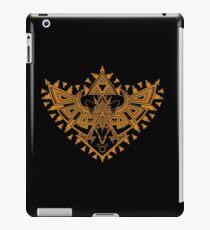 Heart Shield Triforce Bronce Gold 2/3 iPad Case/Skin