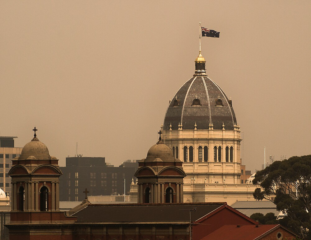 Royal Exhibition Dome by daveoh