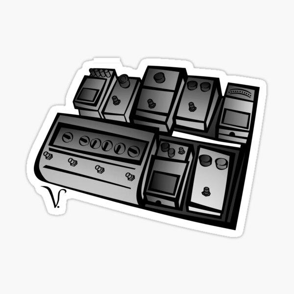 Pedalboard [2]  Sticker