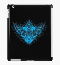 Heart Shield Triforce Cyan 3/3 iPad Case/Skin
