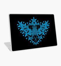 Heart Shield Triforce Cyan 2/3 Laptop Skin