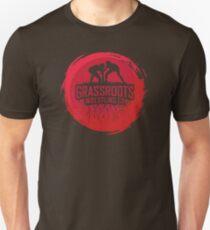 GrassRoots Wrestling Co. Art Logo Unisex T-Shirt