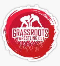 GrassRoots Wrestling Co. Art Logo Sticker