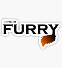Proud  Furry! Sticker