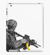 Banana Clip Soldier iPad Case/Skin
