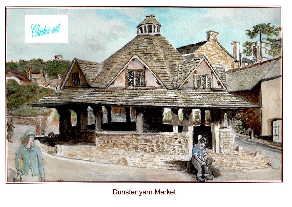 Dunster Yarn Market by clarkesart