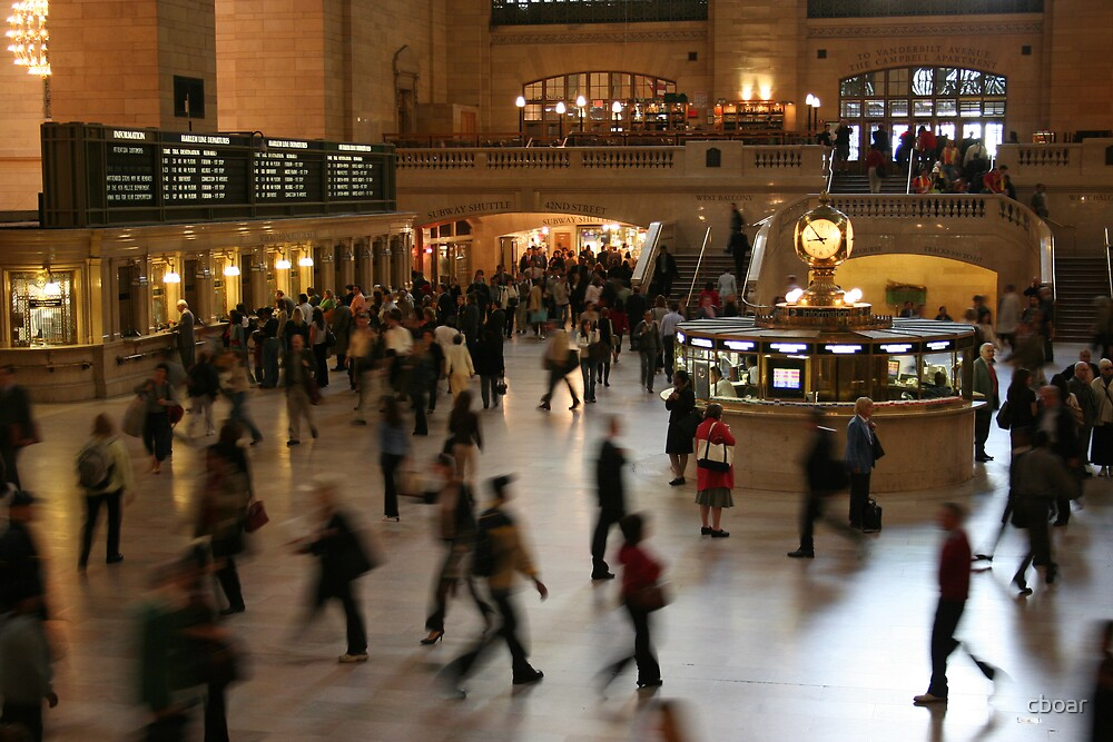 Grand Central New York by cboar