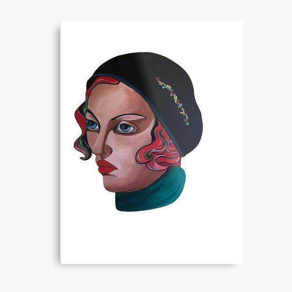 Art Deco Gloria Metal Print