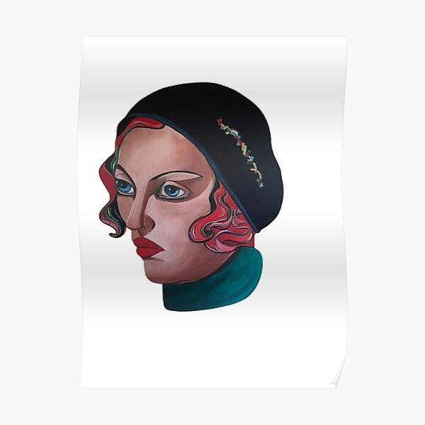 Art Deco Gloria Poster
