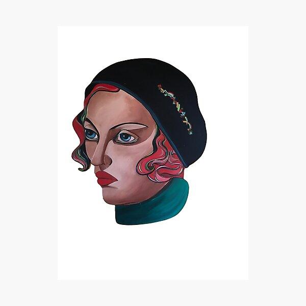 Art Deco Gloria Photographic Print