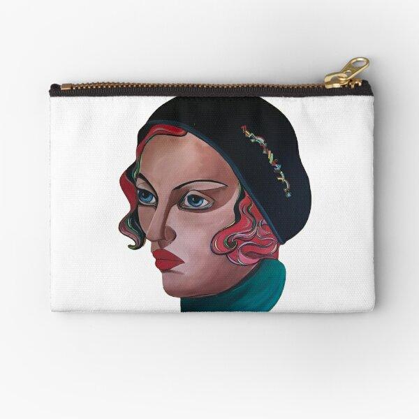Art Deco Gloria Zipper Pouch