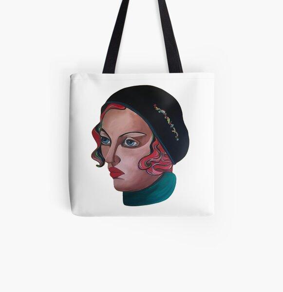 Art Deco Gloria All Over Print Tote Bag