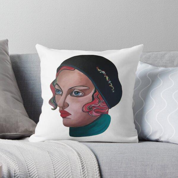 Art Deco Gloria Throw Pillow