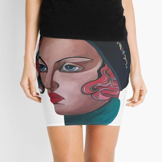 Art Deco Gloria Mini Skirt