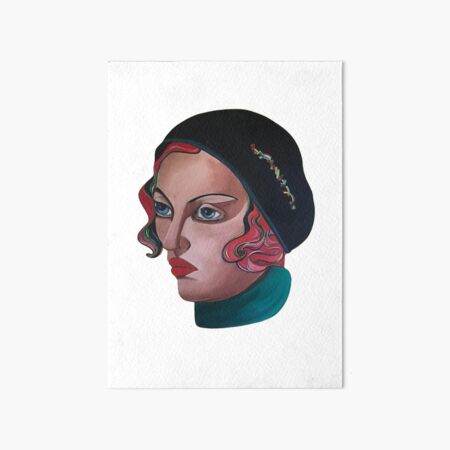 Art Deco Gloria Art Board Print