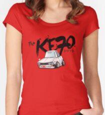 KE70 Women's Fitted Scoop T-Shirt