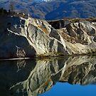 Blue Lake - St Bathans by Peter  Sundstrom