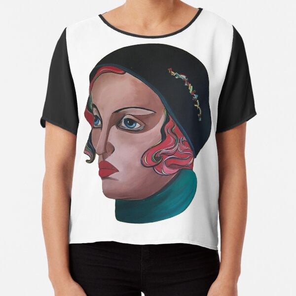 Art Deco Gloria Chiffon Top