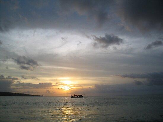 Beach, Bali by John Douglas