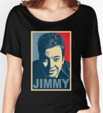 jimmy fallon Women's Relaxed Fit T-Shirt