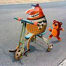 Stolen tricycle by Neil Elliott