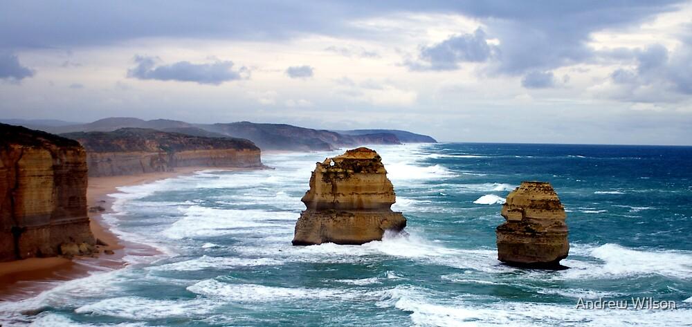 Stormy Coast by Andrew Wilson
