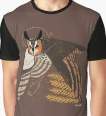 Familiar - Long Eared Owl Graphic T-Shirt