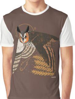 Familiar - Long Eared Owl Graphic T-Shirt
