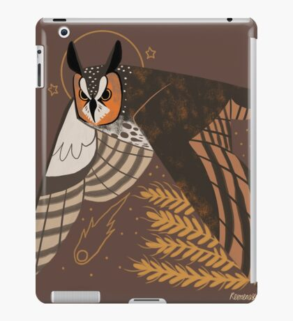 Familiar - Long Eared Owl iPad Case/Skin