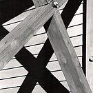 Cross Beams Shadow by Kerri McMahon