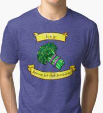 lemme hit that broccolini Tri-blend T-Shirt