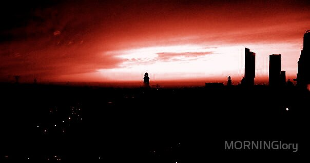 Manchester Sky Line by MORNINGlory