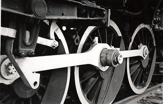 Train Wheels by Kerri McMahon
