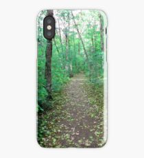 Pixie Path - Green iPhone Case