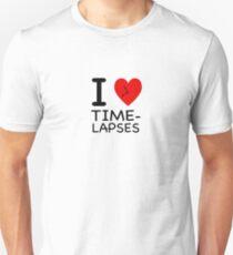 I heart Time-lapses - NY style Unisex T-Shirt