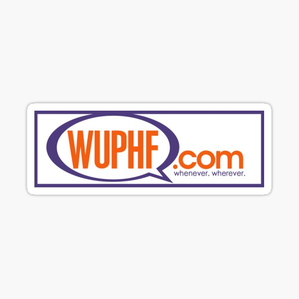 WUPHF - The Office Sticker