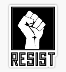 Resist Shirt - La Résistancee Sticker
