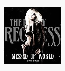 The Pretty Reckless - Messed up World Photographic Print