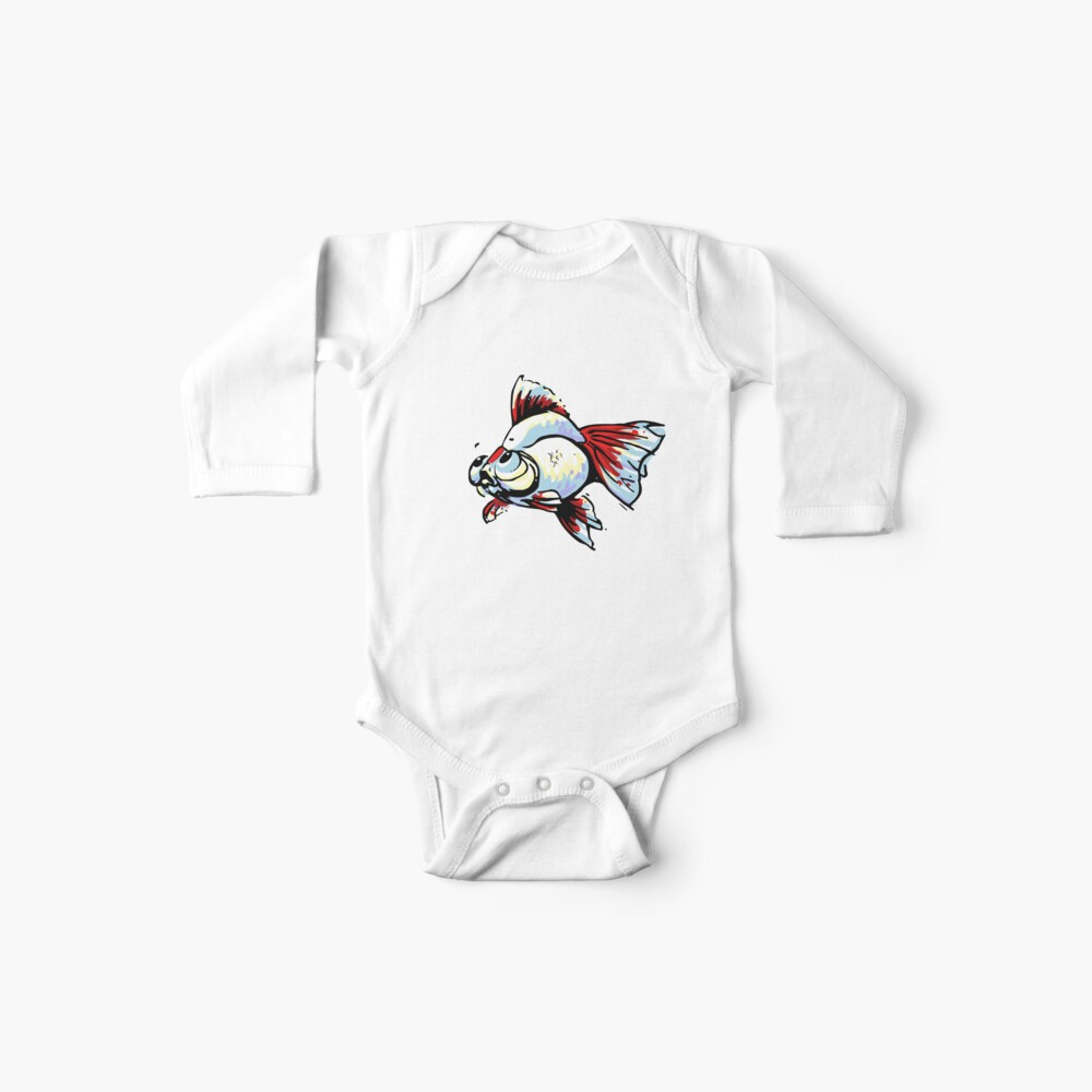 Tancho Telescope Goldfish Baby One-Piece