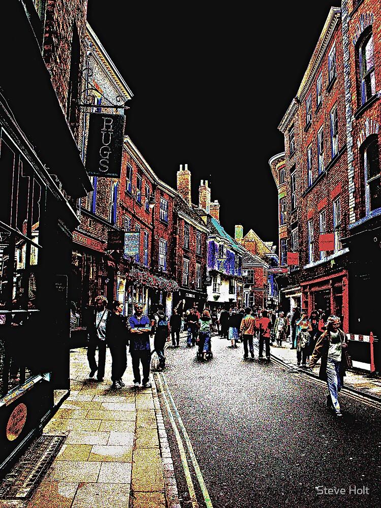 York Shopping by Steve Holt