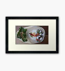 Smash Avo Hoppers Framed Print