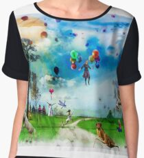 The Land of Stories & Nursery Rhymes Chiffon Top