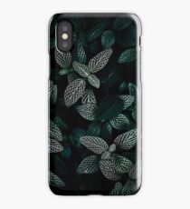 Dark Leaves 3 iPhone Case