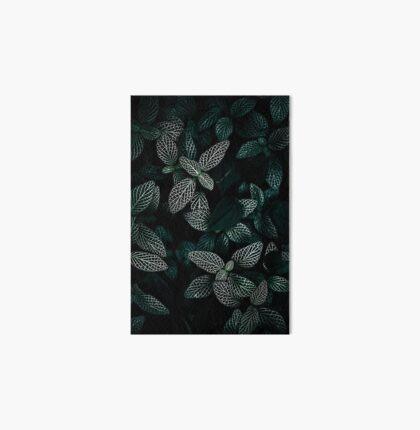 Dark Leaves 3 Art Board