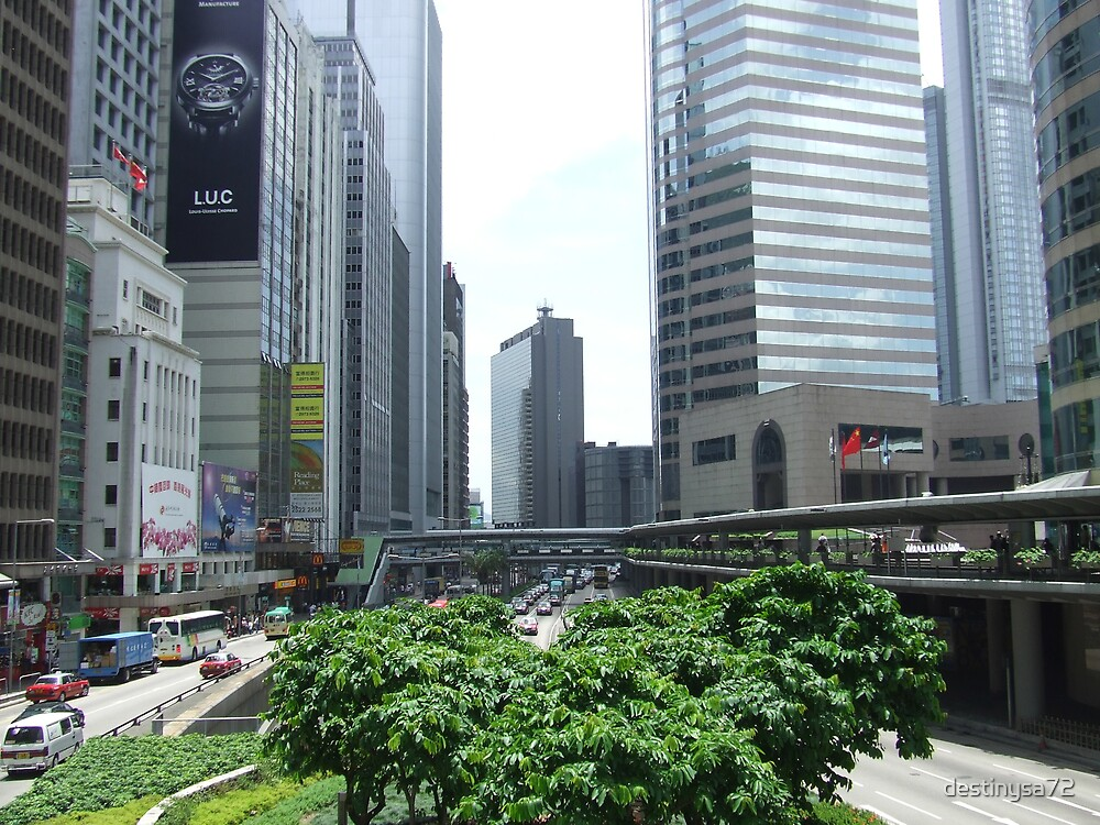 Hong Kong Central by destinysa72