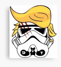STORM TRUMPER - Donald Trump Stormtrooper Canvas Print
