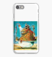 A pirate never removes his hat iPhone Case/Skin